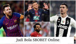 Judi Bola SBOBET Online Terbaik